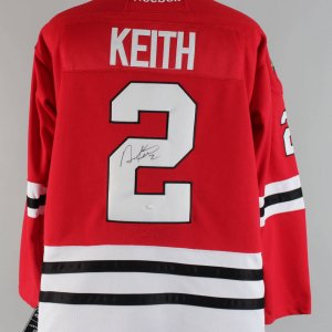 "Chicago Blackhawks- Duncan Keith Signed & Inscribed ""2"" Authentic Jersey - COA JSA"