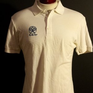 An Official Staff Worn 1987 White House Tennis Courts Polo Shirt.  Reagan Presidency.