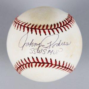 Brooklyn Dodgers - Johnny Podres Signed & Inscribed ONL Baseball - JSA