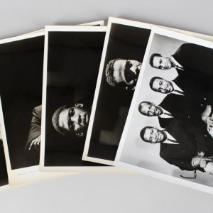Lot of The Jazz Crusaders 8x10 BW Vintage Photos (5)