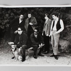 Paul Butterfield Blues Band 8x10 BW Photo