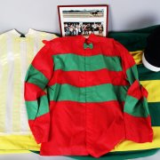 Harvey L. Vanier Trainer Of Thoroughbred Racehorses Silks