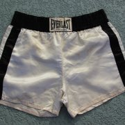 1970s Muhammad Ali Fight Worn Trunks (Wali Muhammad LOA)