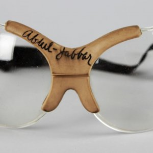 Los Angeles Lakers - Kareem Abdul-Jabbar Game-Worn, Signed Goggles