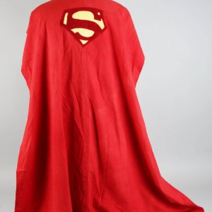 Original Superman Cape Worn by George Reeves 1950s TV Program The Adventures of Superman