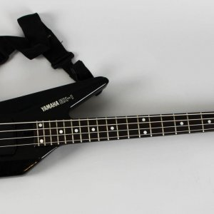 Dio Rock Band Jimmy Bain's Personal Stage Used Black Yamaha BX-1 Bass Guitar With Case - Provenance Girlfriend