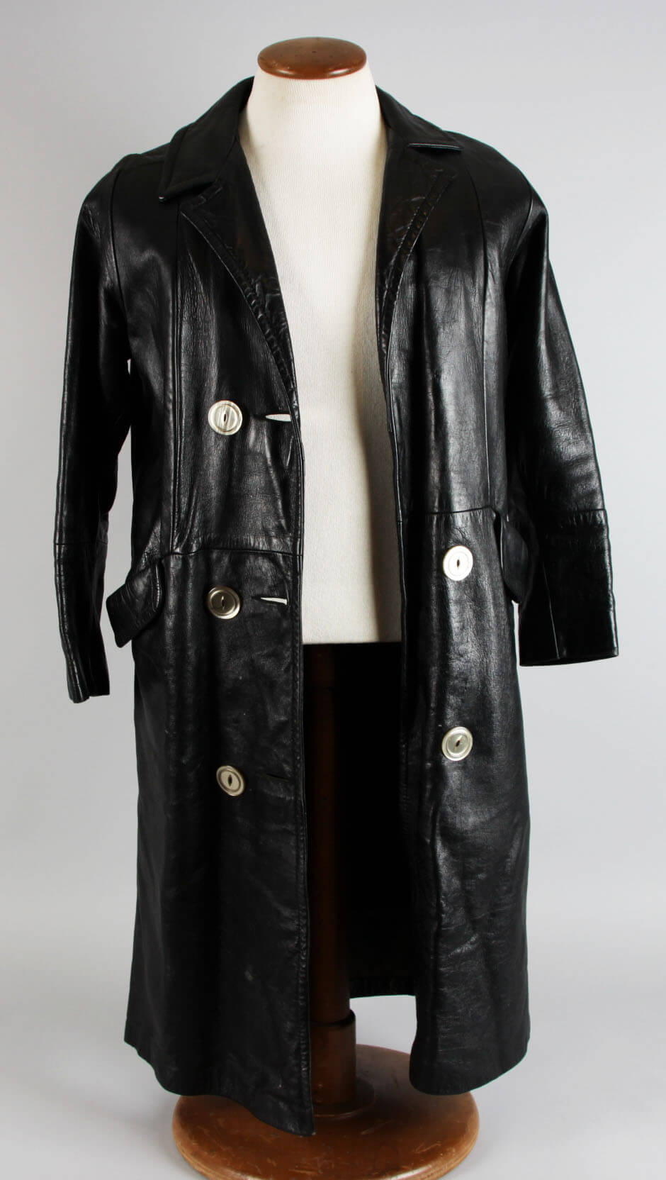 Jimmy Bain's Black Leather Coat Worn In Final Performance Before His Death – Provenance LOA62515_01
