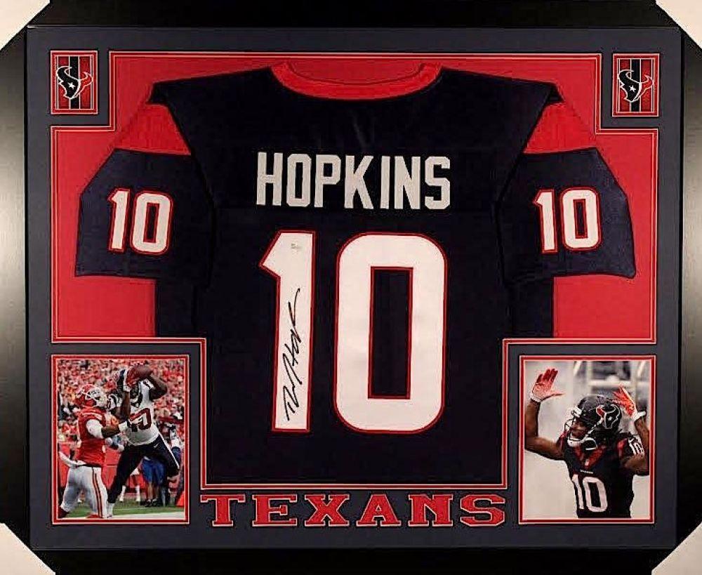 deandre hopkins autographed jersey