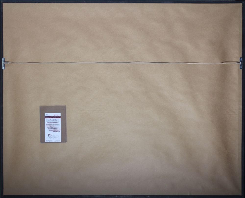 4f0bc1625e1 Emmitt Smith Signed Cowboys 35×43 Custom Framed Jersey (JSA COA)