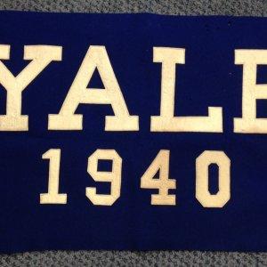 1940 Yale banner