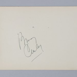 Going My Way - Bing Crosby Signed 5x6 Vintage Album Page - COA JSA