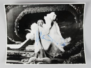 Stage Fright - Marlene Dietrich Signed (Full Signature) 8x10 Photo- COA JSA