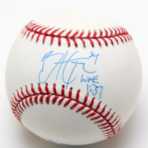 Rare Nationals Bryce Harper & Bryan Harper Signed Baseball (College Signature - PSA/DNA Full LOA)
