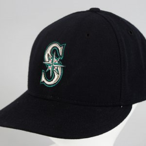 Seattle Mariners - Ken Griffey Jr. Game-Worn Baseball Hat