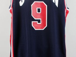 USA Michael Jordan Team-Issued Blue Basketball Jersey