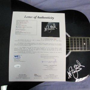 Miranda Lambert signed crestwood 2010B guitar WITH COA JSA LOA