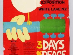 "1971 Woodstock Movie Poster 24x36"""