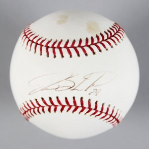 SF Giants - Jason Schmidt Signed & Inscribed OML Baseball - COA