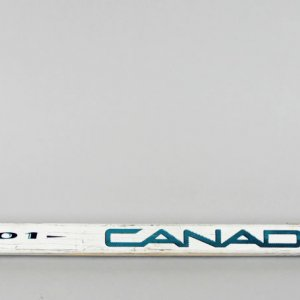 1991-93 San Jose Sharks - Kelly Kisio Game-Used Hockey Stick - COA