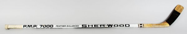 Los Angeles Kings - Steve Duchesne Game-Used Hockey Stick - COA