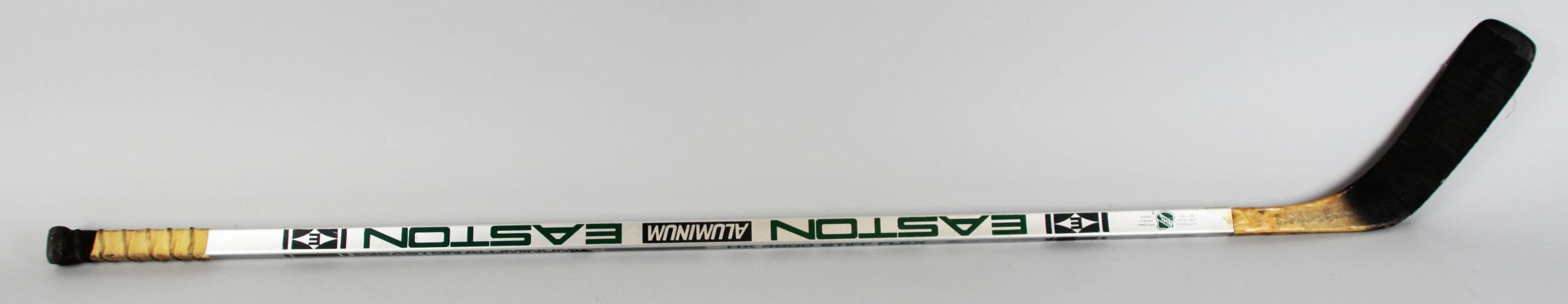 1985-86 Los Angeles Kings – Garry Galley Game-Used Hockey Stick – COA65554_01