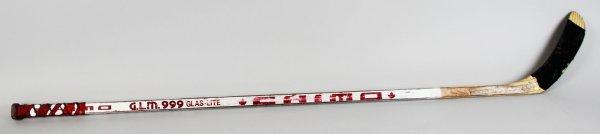New Jersey Devils - Alexander Semak Game-Used Hockey Stick - COA