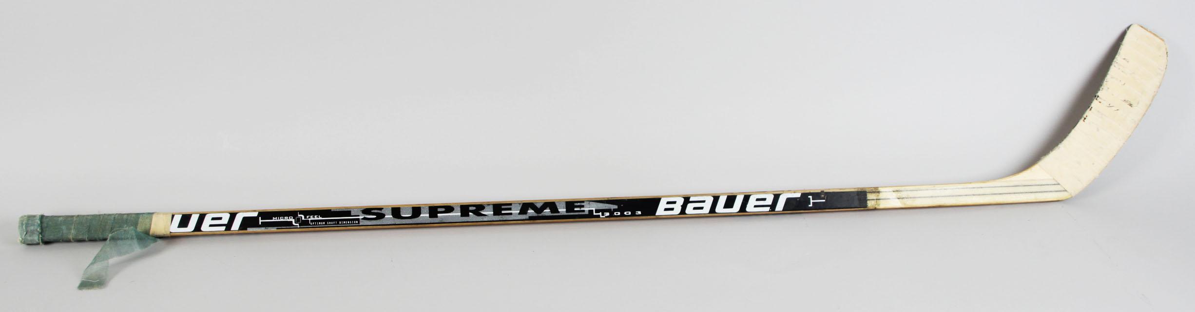 Montreal Canadiens - Valeri Bure Game-Used Hockey Stick - COA