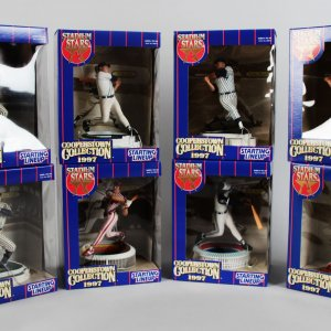MLB - 1997 Cooperstown Collection Starting Line Up Stadium Stars (8) Un-Opened