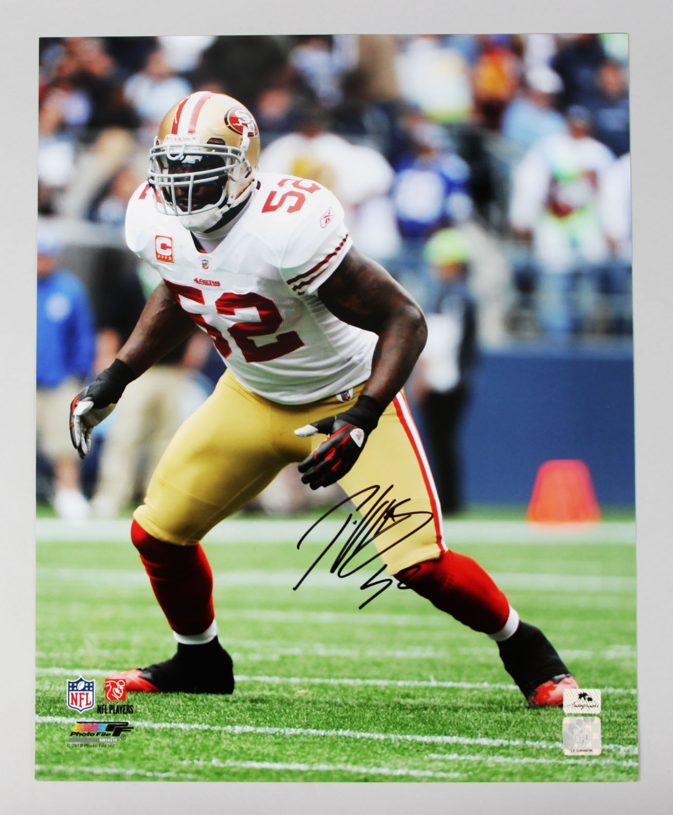 San Francisco 49ers - Patrick Willis Signed 16x20 Photo (COA & Hologram from Palm Beach Autograph Signing)
