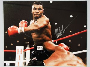 Boxing - Mike Tyson Signed 16x20 Photo - COA GAI