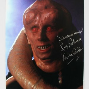 Star Wars - Michael Carter Signed 8x10 Bib Fortuna Photo - COA