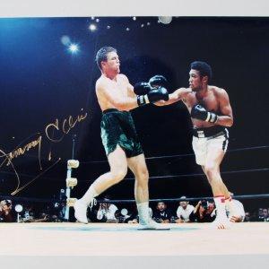 Jimmy Ellis Signed Photo Boxing - COA PSA/DNA