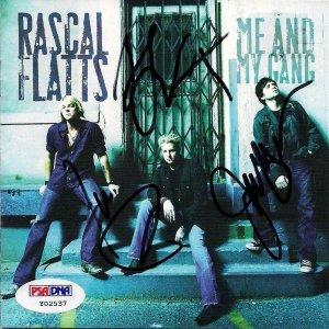 Rascal Flatts Gary LeVox Jay DeMarcus Joe Rooney PSA