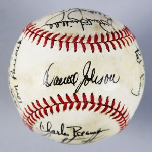 1978-79 Seattle Mariners Multi-Signed Baseball - 17 Sigs. - COA