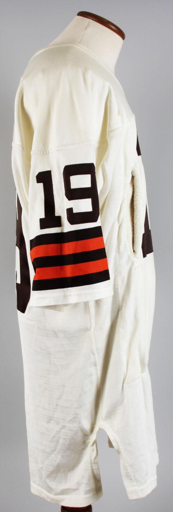 2d9a1326c64 1985-87 Cleveland Browns – Bernie Kosar Game-Worn Jersey -COA 100% Team