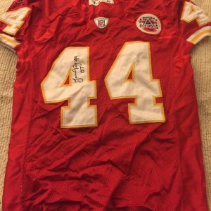 2007 Kansas City Chiefs Jarrad Page Game-Worn, Signed Jersey