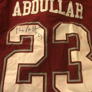 Washington State Cougars Husain Abdullah Game-Worn, Signed Jersey