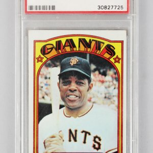 1972 Topps -SF Giants- Willie Mays Graded Card #49 - PSA VG-EX 4