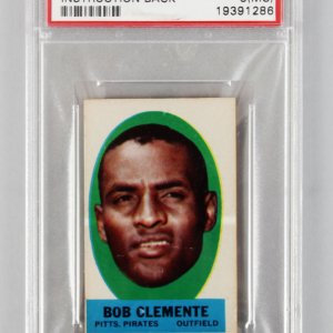 1963 Topps Peel-Offs Roberto Clemente Graded Card - PSA NM-MT 8 (MC)