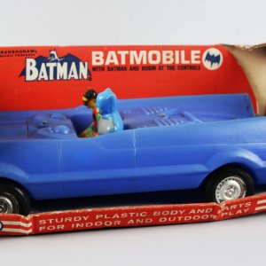 1966 Batman Batmobile by Transogram w/ Box