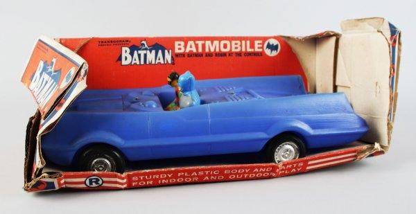 1966 Batman Batmobile by Transogram w/ Box