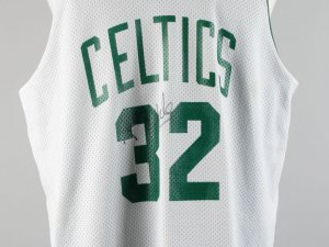 Boston Celtics - Kevin McHale Game-Worn, Signed Practice Jersey - COA JSA