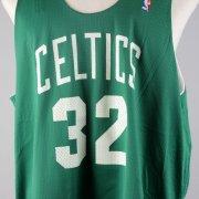 Boston Celtics - Kevin McHale Game-Worn, Signed Practice Jersey - COA JSA