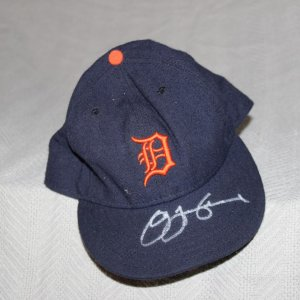 Detroit Tigers Jim Leyland Game-Worn, Signed Autographed Cap Hat