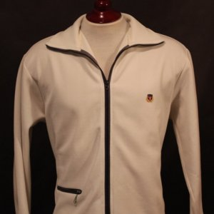 An Arthur Ashe Game-Used/Personally Owned Tennis Jacket.  1960's.