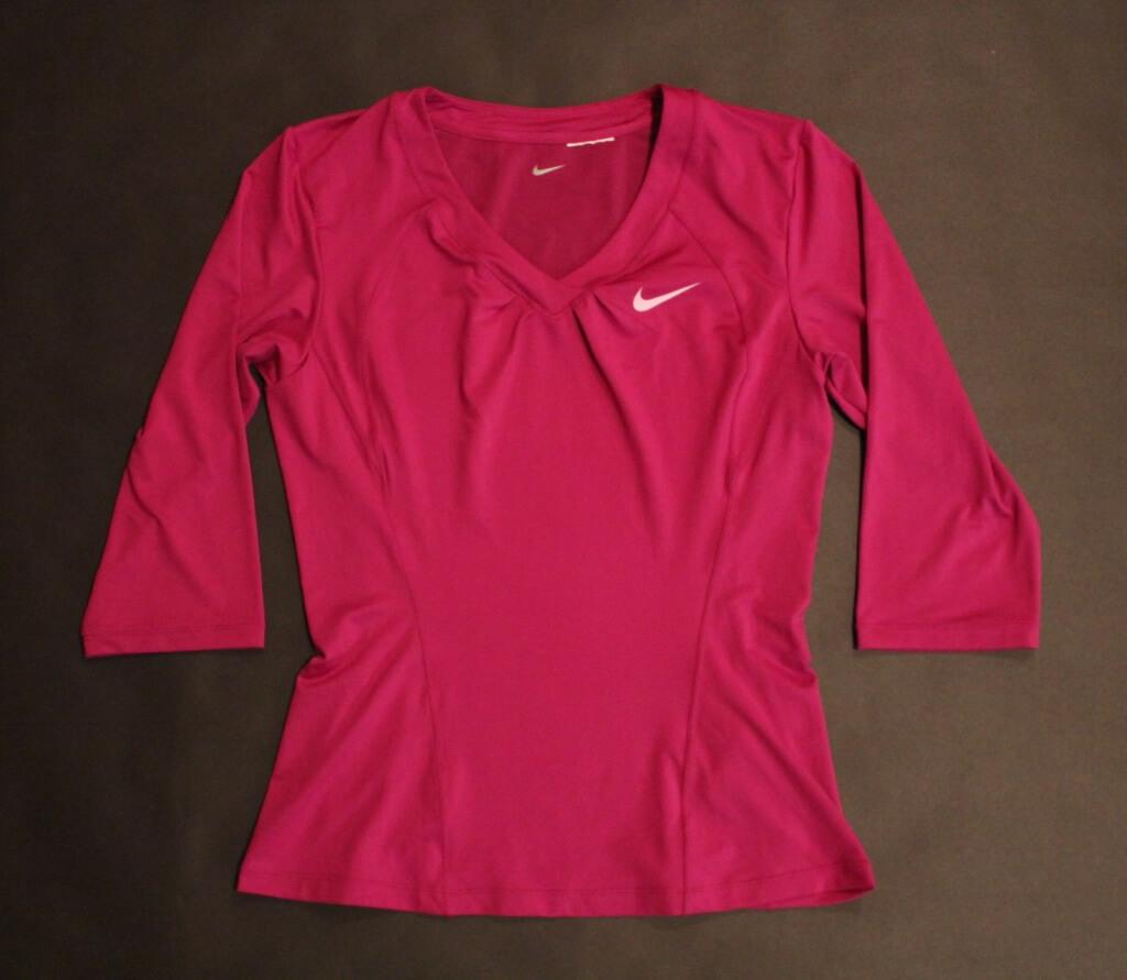 A Serena Williams Game-Issued Custom Nike Tennis Top.  2010 WTA Season.