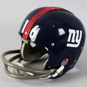 New York Giants - Frank Gifford Original RK2 Kra-Lite Riddell Football Helmet