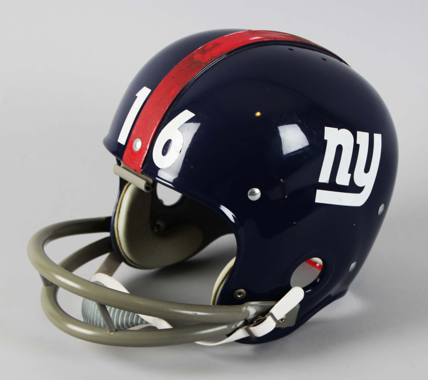 New York Giants – Frank Gifford Original RK2 Kra-Lite Riddell Football  Helmet 25fc05f22