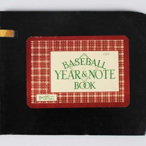 1953 Cubs James T. Gallagher General Manager Personal Baseball Year & Note Book
