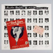 1946 Boston Red Sox Souvenir Book American League Champions /Poster/Ted Williams & Pass